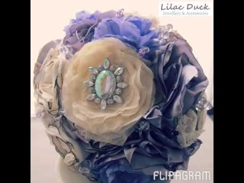 Flipagram - Brooch and Button Bouquets