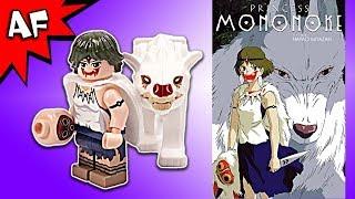 Custom Lego Princess MONONOKE Minifigure Review