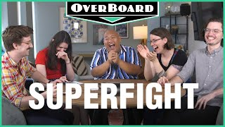 Let's Play SUPERFIGHT feat. Spider-Man: Far From Home's Jacob Batalon! | Overboard, Episode 11