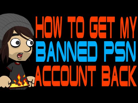 How to Get My Banned PSN Account Back