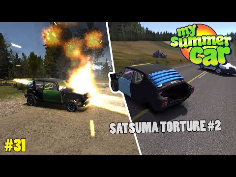 Stress Testing the Satsuma - My Summer Car