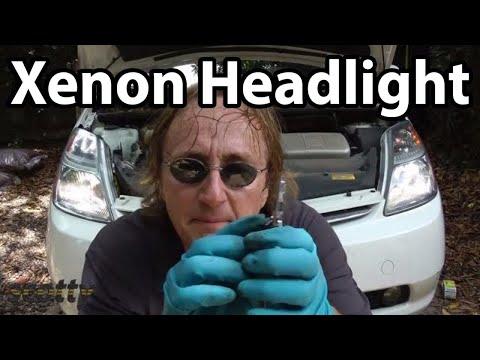 Replacing High Intensity Xenon Headlight Bulbs