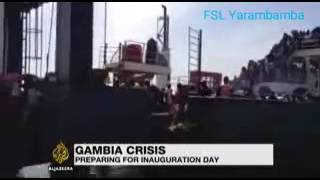 Gambia Latest: Senegalese Troops Moving Towards Gambian Boader