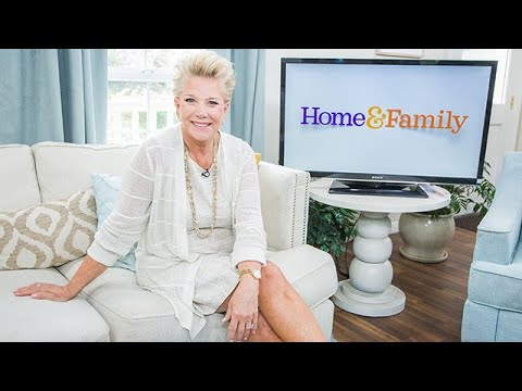 Joan Lunden visits - Home & Family