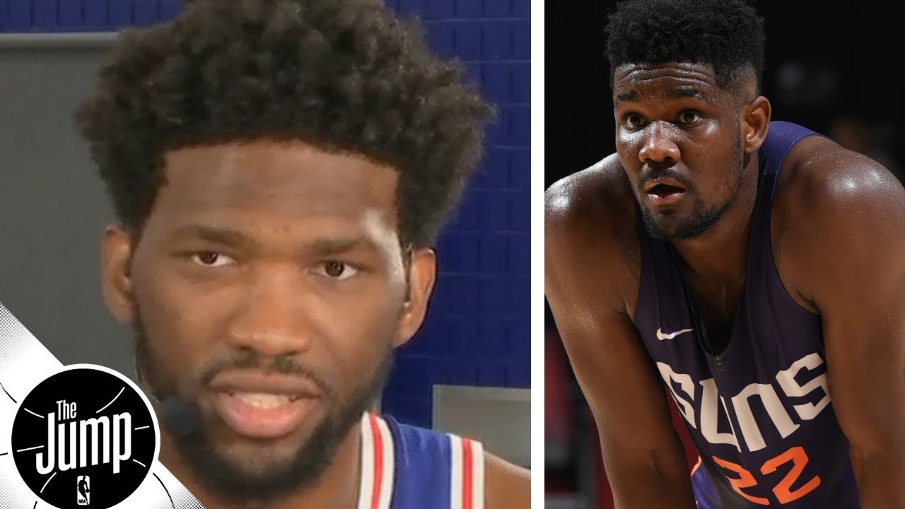 Joel Embiid on Deandre Ayton: 'He's about to get his a-- kicked' | The Jump | ESPN