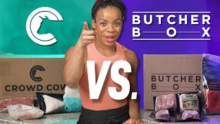 Crowd Cow Vs. Butcher Box Review - Which is better? 🐮🐷🥓