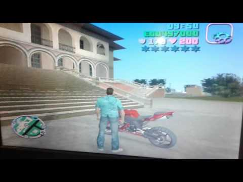 How to get a alein plane in gta vice city game