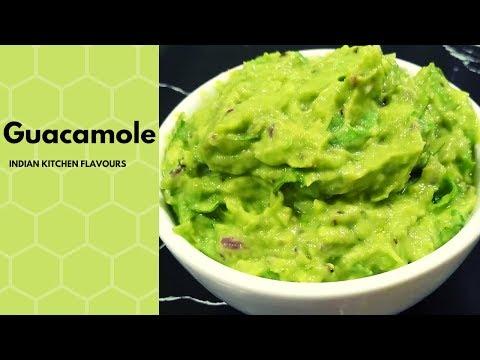 Fresh Homemade Guacamole | Chipotle Style Guacamole | Easy Guacamole Recipe