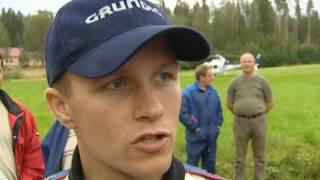 Petter Solberg gives it the full send! WRC 2000 - Big CRASH!