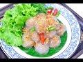 Tapioca Balls with Pork Filling (Thai Appetizer) - สาคูไส้หมู Saku Sai Moo