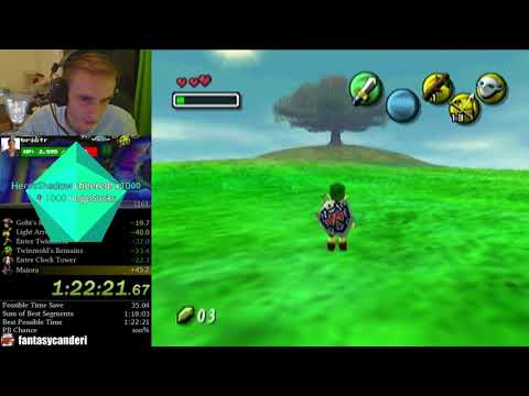 Majora murders another world record paced run (Majora's Mask Speedrunning)