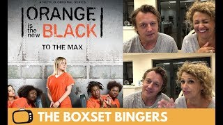 Orange Is The New Black Season 6 Trailer REACTION - Nadia Sawalha & Family
