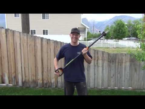 Weeding is FUN if you have the right tool for the job.  The WEED SHOTGUN!