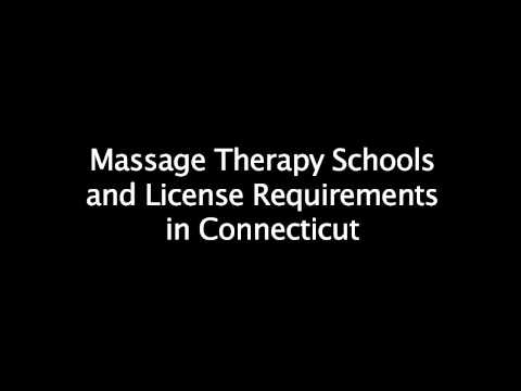 Massage Therapy Schools in Connecticut - Requirements