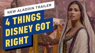 Download New Aladdin Trailer: 4 Things Disney Got Right Video