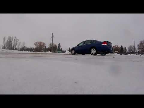 Drifting A FWD Chevy Impala!!!!!