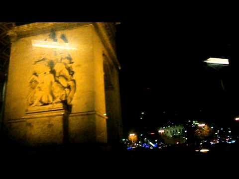 Bus Place Charles de Gaulle Paris Arc de Triomphe rondpoint
