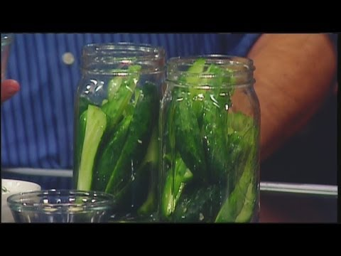 Make your own kosher dill pickles!