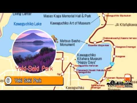 Travel around Lake Kawaguchigo by Retrobus  河口湖