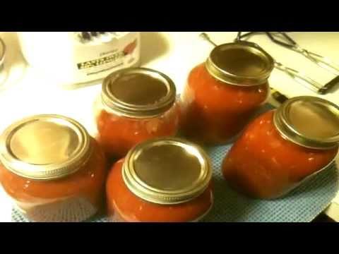 Canning Garden Fresh Marinara Sauce