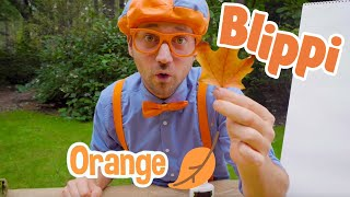 Learning Autumn Colors With Blippi | Educational Videos For Kids