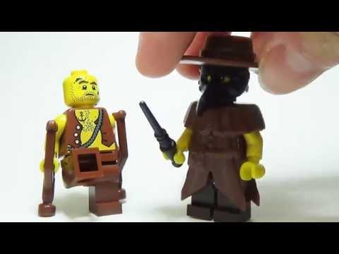 BrickWarriors Custom Lego Plague Doctor Accessories