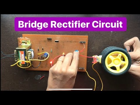 How to Make Bridge rectifier Circuit for DC load   Battery Charger Circuit