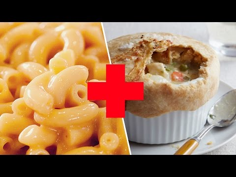 Bacon Mac & Cheese Pot Pie Review- Buzzfeed Test #63