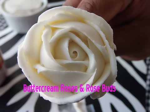 BUTTERCREAM ROSES w/ Store Brand Frosting | Tutorial | MCC