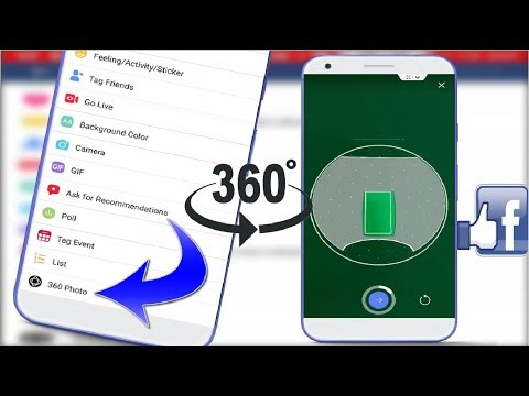 How to Click 360 Degree Photos For Facebook in Android without App 2018