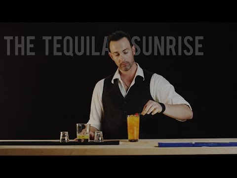 How to Make The Tequila Sunrise - Best Drink Recipes