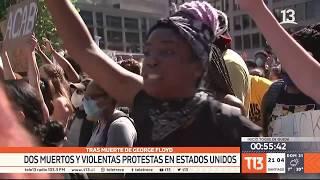 Protestas en EE.UU. por la muerte del afroamericano George Floyd
