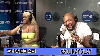Eastside jody interview with Dj Kayslay at Shade45