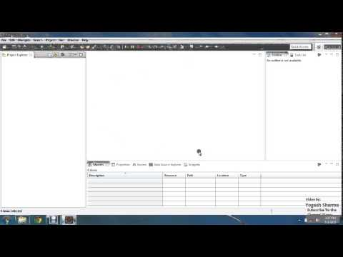 1  Configure Eclipse Workbench Basics and Creating Dynamic Web Project