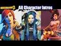 Borderlands 3 All Characters Intros Introduction Scenes Maya Tina Moxxi Mordecai Zero