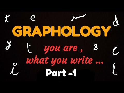 How to study people. Graphology. Psychology tricks.Writing analysis.