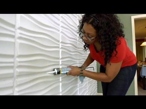 Decorative Wall Panels by WallArt as seen on DIY