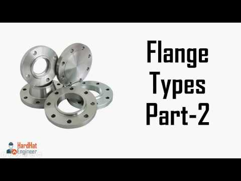 Flanges Face Types RTJ, Flat, Raised Face. Different Types of Flange Faces.