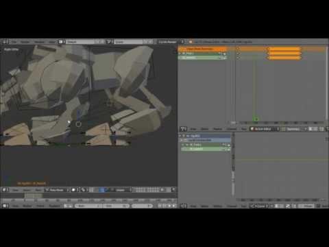 Animate A Basic Quadruped Walk Cycle