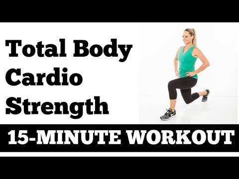 15-Minute Fat Blasting Cardio and Strength Circuit Workout with Dumbbells