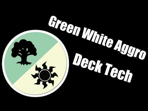 Standard Green White Aggro Deck Tech