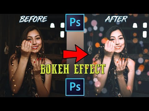 Create a  Bokeh Effect in Photoshop | Photoshop Tutorial