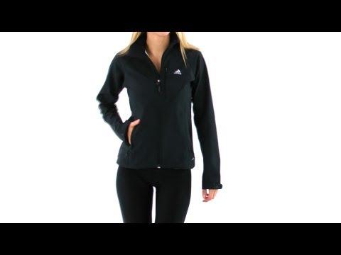 Adidas Outdoor Women's Soft Shell Running Jacket | SwimOutlet.com