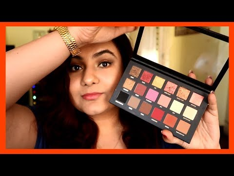 HUDA beauty in INDIA? Rose gold eye shadow Honest FIRST impression!