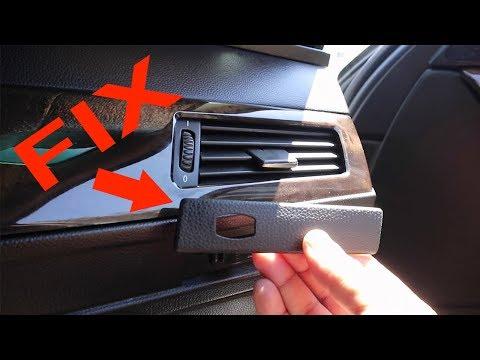 BMW E60 broken cup holder / repair replacement 5 series