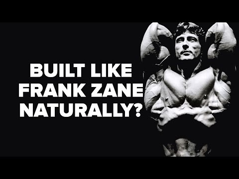 Can You Build a Body Like Frank Zane Naturally?