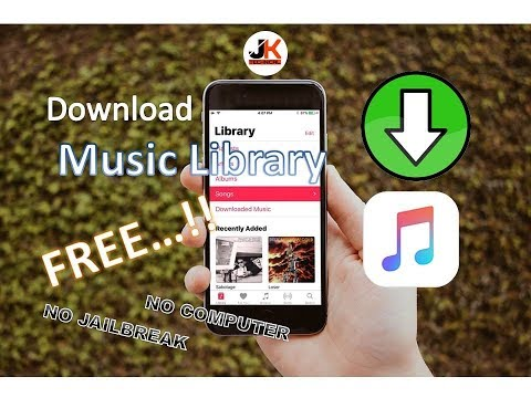 How To Download Unlimited Music on iPhone for FREE..!! - iOS 11,10, 9, 8 (No Jailbreak)(No Computer)