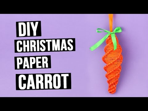 DIY Christmas Tree Decorations – Paper Carrot