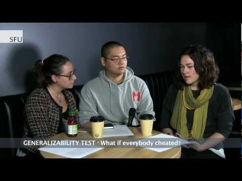 SFU - Ethical test to assess behaviour affecting academic integrity