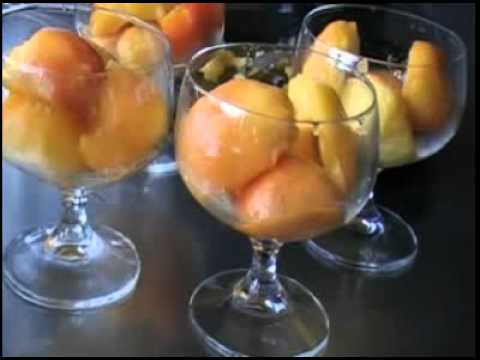 Great simple recipe - Peach melba with a twist -